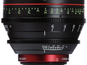 Rent: Canon CN-E 50mm T1.3 L F Cine Lens (EF-Mount | Prime)