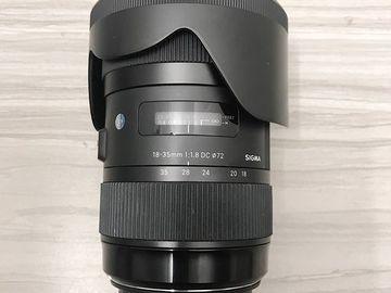 Sigma 18-35mm f/1.8 DC HSM Art Canon EF Mount