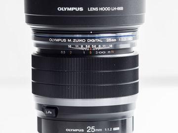 Olympus M.Zuiko  25mm f/1.2 PRO Lens for MFT