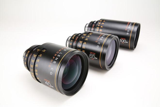 Atlas Orion Anamorphic Lens A Set (40, 65, 100mm T2)