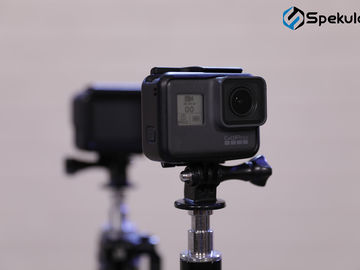 2x Go Pro Hero 5  -  2 GoPro 5 setup with cards &  batteries
