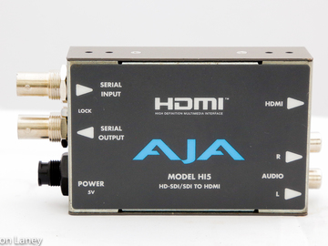 Rent: AJA HI5 HD-SDi to HDMI mini-converter