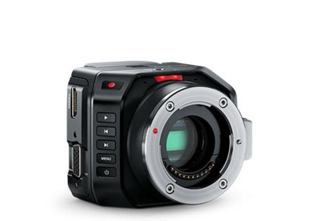 Blackmagic Micro Cinema Camera w/ Monitor + Cage