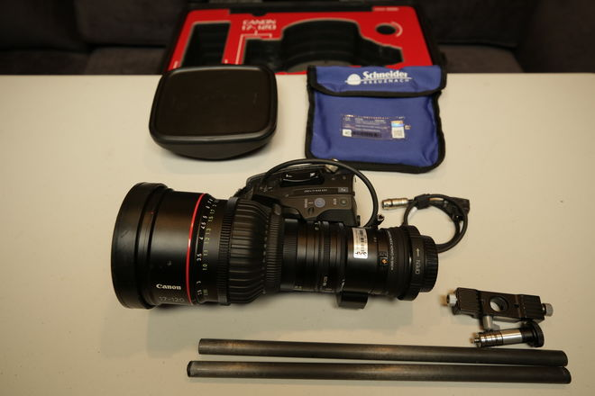 Rent a C300 Mark II w/ Cage, Canon 17-120mm EF, Shoulder Mount, Best Prices  | ShareGrid New York
