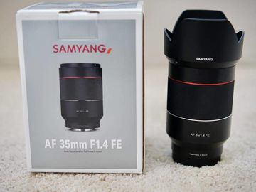 Rokinon 35mm f1.4 AF FE for Sony E-Mount