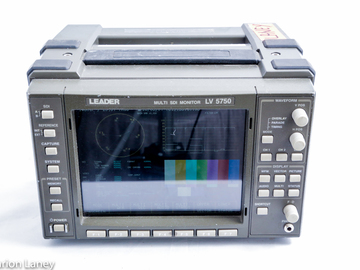 Rent: Leader Waveform/Vectorscope/Audio/Picture LV5750 HD-SDi