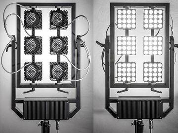 2x Digital Sputnik DS6 LED Modular Light System