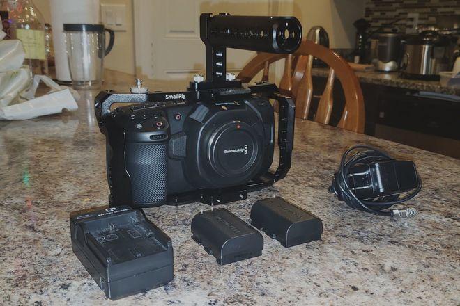 Blackmagic Pocket Cinema 4K Camera (W/ Metabones Ultra)