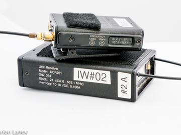 Rent: Lectrosonics/Lectro 200 series wireless trans/rec/hop #2