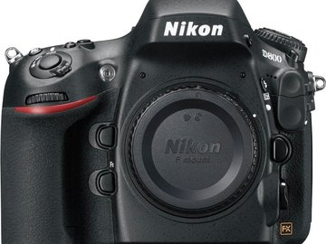 Rent: Nikon D800 36.3 MP CMOS FX-Format DSLR Camera (Body Only)