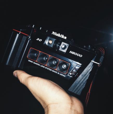 Rent a Nishika N8000 3D Stereoscopic Camera + Flash | ShareGrid Los