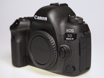 Rent: Canon EOS 5D Mark IV **Body Only
