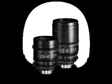 Sigma Cine Zoom Lens Set - 18-35mm & 50-100mm (PL Mount)
