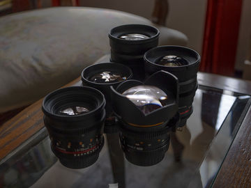 Rokinon Cine DS Set (5 Lenses) Canon EF Mount