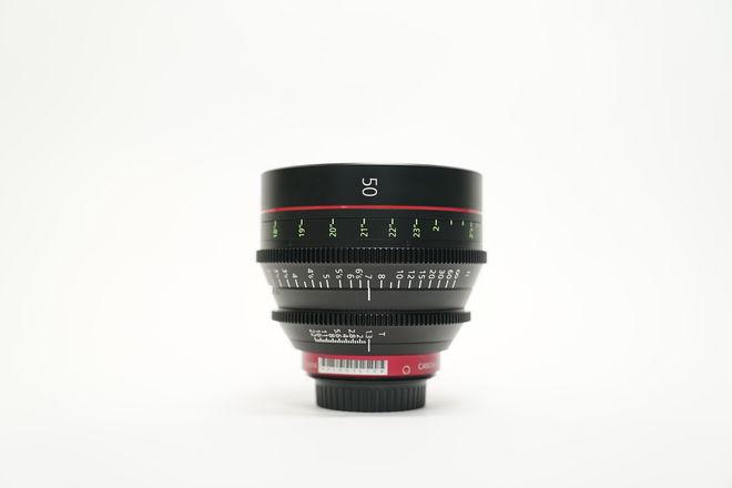 Canon CN-E Cinema Prime 50mm Lens