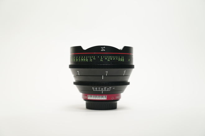 Canon CN-E Cinema Prime 14mm Lens