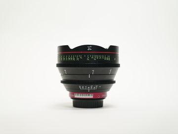 Canon CN-E Cinema Prime 14mm Lens