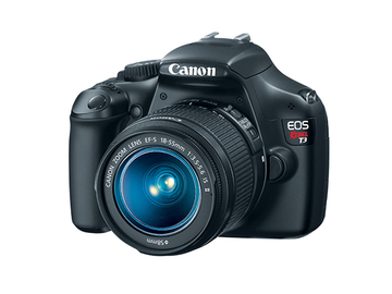 Rent: Canon Rebel T3 DSLR Camera