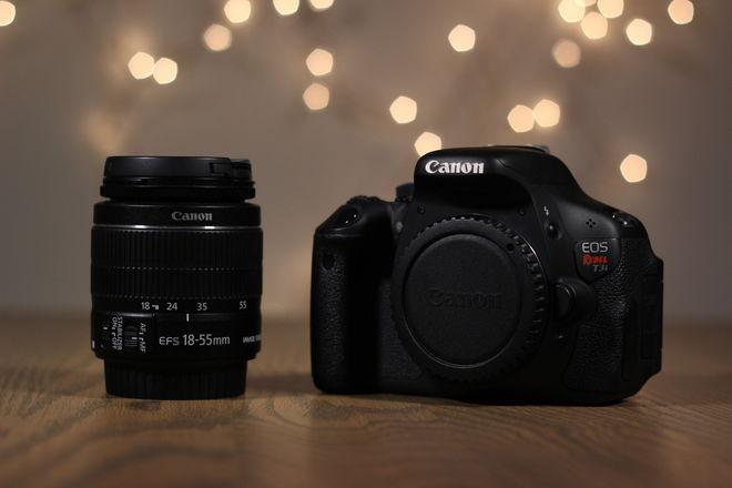 Canon Rebel T3i + 18-55mm Kit Zoom Lens