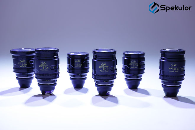 Cooke Mini S4/I Prime 6 Lens Set