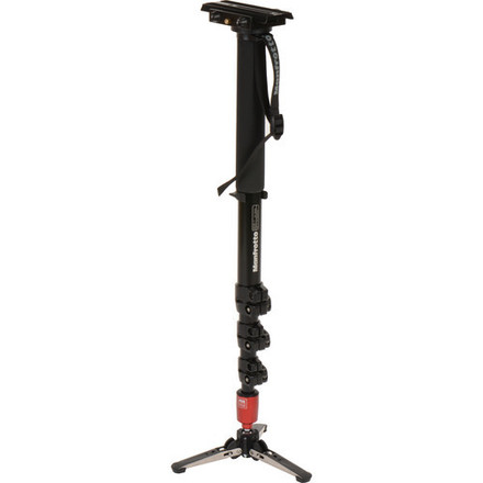 Manfrotto 562B-1 Fluid Video Aluminum Monopod with 357 Quick
