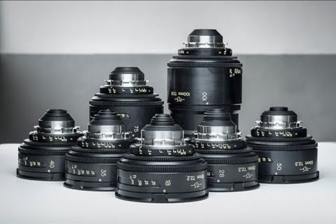 Cooke Speed Panchro - TLS rehoused