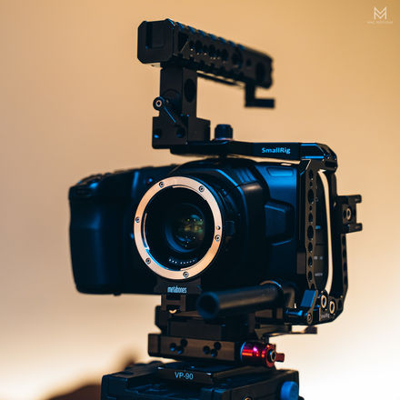 BMD Pocket 4K, Metabones XL, Cage, 3x batteries, more