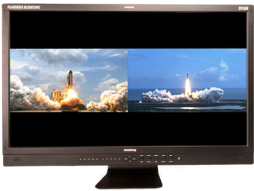 "Rent: 17"" Monitor - Flanders CM-171 w/ Anton-Bauer batteries"