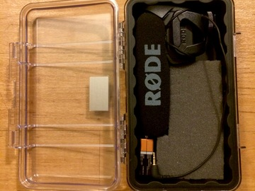 Rent:  Rode VideoMic Pro Compact Directional On-Camera Microphone
