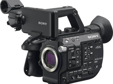 Sony PXW-FS5 Super 35mm Camera (w/Canon Adapter and Lens)
