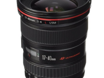 Rent: Canon EF 17-40mm f/4L USM Ultra Wide Angle Zoom Lens