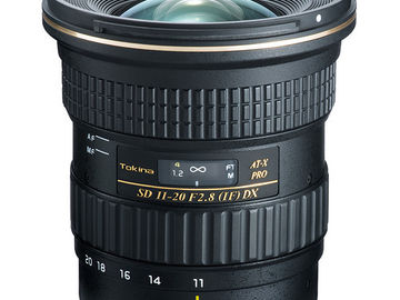Tokina AT-X 11-20mm f/2.8 Pro DX Wide Zoom Lens (Canon EF)