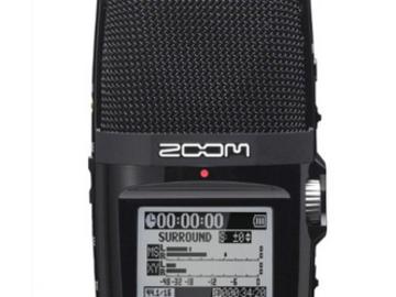 Rent: Zoom H2n Handy Audio Recorder