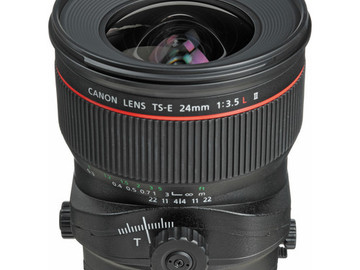 Rent: Canon TS-E 24mm f/3.5L II Tilt-Shift Lens