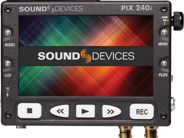 (1 of 2) Sound Devices Pix-240 Recorder