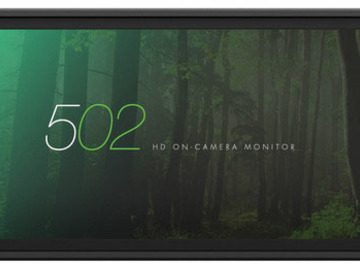 Rent: SmallHD 502 On-Camera Monitor