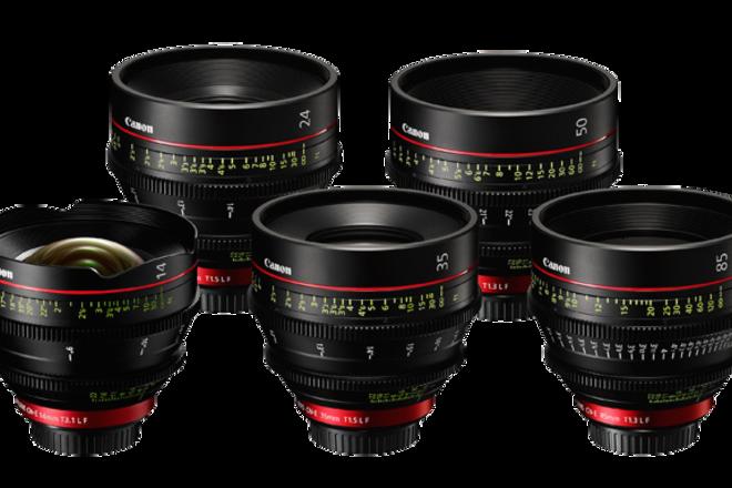 Canon CN-E Cinema Prime Lens Set