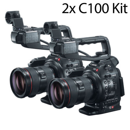 Two-Cam Canon EOS C100 kit