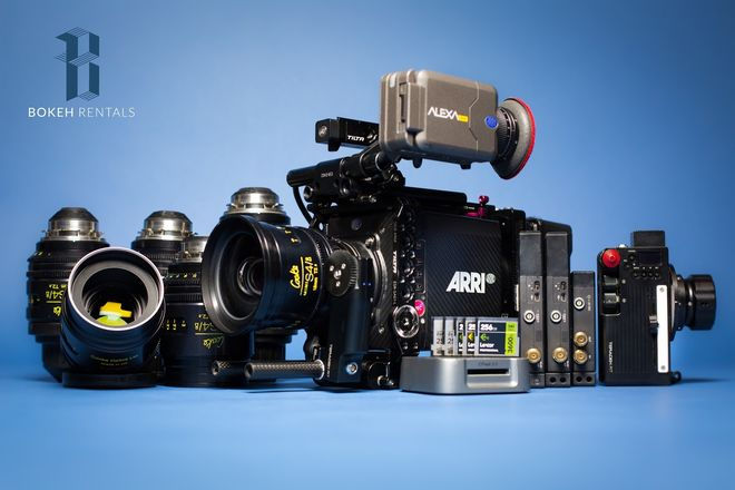 ALEXA MINI - INDIE PACKAGE #2! ( Cooke/Zeiss, RT Motion)