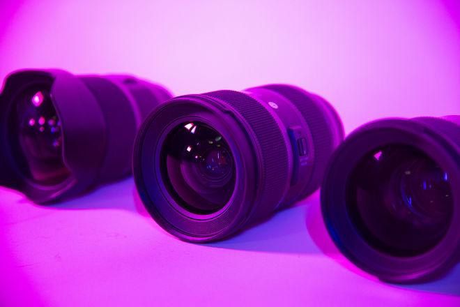 SIGMA ART LENS KIT, 20mm 1.4, 50mm 1.4, 24-35mm 2.0 Canon EF