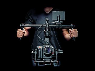 DJI Ronin, Small HD 702 bright, Cinemilled, Thumb Control