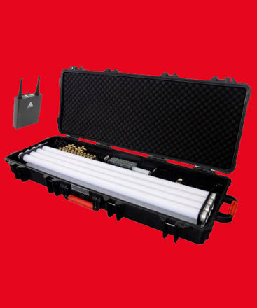 Astera AX1 Pixeltube 8-Tube Kit w/ ART7 transmitter + IPAD