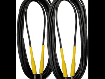 Rent: 2 - 20 foot Guitar cables