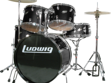 Rent: Ludwig Drumset