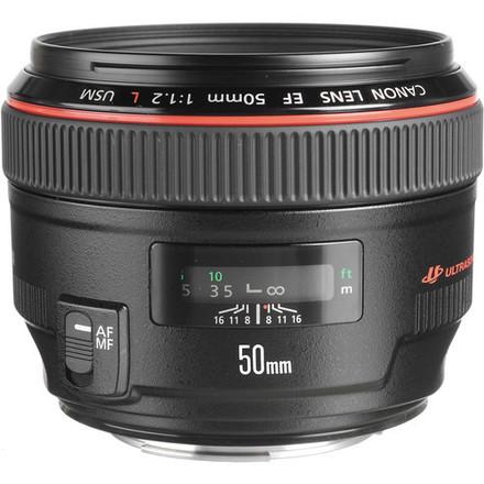Canon EF 50mm f/1.2L USM Lens