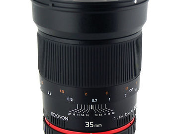 Rokinon 35mm F/1.4 (MFT mount)