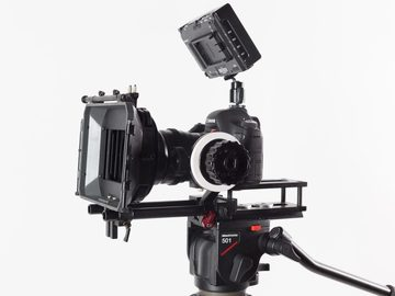 Rent: Canon 6D cinema Package, Mattebox, follow focus, sticks