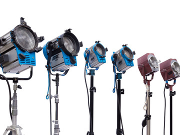 Rent: ARRI Tungsten Fresnel Package