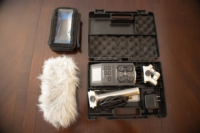 Zoom H6 Recorder & Accessories (Incl. Utility Case)