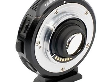 Rent: Metabones EF to BMPCC Speedbooster